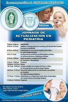 2015-07-04 – Jornada de Actualización en Pediatría