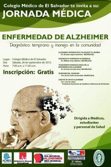 2015-09-26 – Jornada Médica Enfermedad de Alzheimer