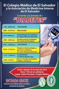 2016-04-30 – Jornada de Diabetes