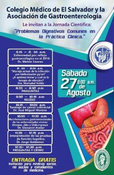 2016-08-27 – Jornada de Gastroenterología