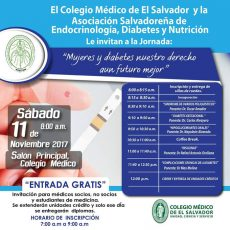 2017-11-11-Jornada de Endocrinología, Diabetes y Nutrición