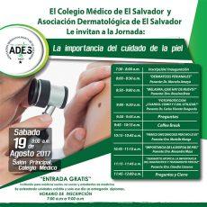 2017 – 08 – 19 Jornada de dermatología