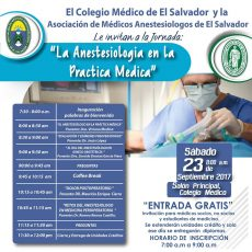 2017-09-23- Jornada de Actualización en Anestesia