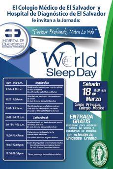 2017-03-18 – Jornada Dormir Profundo, Nutre la Vida