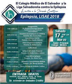 2018-03-17- Jornada de Epilepsia, LISAE