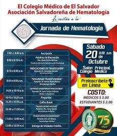 2018-10-20– Jornada de Hematología