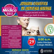 2017 – 07 – 29 Jornada de Medicina Interna