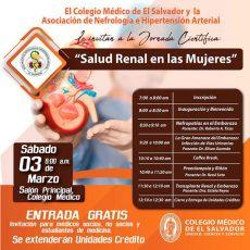 2018-03-03- Jornada de Salud Renal en las Mujeres