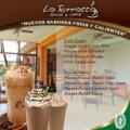«NUEVOS SABORES FRIOS Y CALIENTES»… EN LA TERRAZZA BISTRO & CAFFE