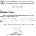 CARTA DE LA CONFEDERACION MEDICA LATINOAMERICANA Y DEL CARIBE, EN APOYO AL GREMIO MEDICO SALVADOREÑO…