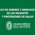 LEY DE DEBERES Y DERECHOS DE LOS PACIENTES Y PRESTADORES DE SALUD…