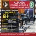 ALIANZA: COLEGIO MÉDICO & DONALD'S BARBER SHOP