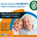 SI ERES SOCIO DE COLMEDES, OBTIENES BENEFICIOS ESPECIALES…