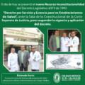 Nuevo Recurso Inconstitucionalidad del Decreto Legislativo #373 de 1992.