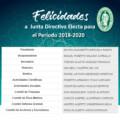 JUNTA DIRECTIVA ELECTA, PARA EL PERIODO 2018-2020.