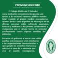 PRONUNCIAMIENTO DE COLEGIO MEDICO, ANTE LA GRAVE CRISIS QUE VIVE EL GREMIO MEDICO Y LA POBLACIÓN EN NICARAGUA