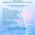 CONGRESO:AVANCES EN ALERGIA E INMUNODEFICIENCIAS EN EL SIGLO XXI. CONMEMORACIÓN XXX ANIVERSARIO DE A.S.A.A.I.C.