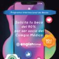 ALIANZA ENGLISHTIME INTERNATIONAL Y COLEGIO MÉDICO