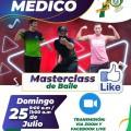 Celebrando los 78 años, Colegio Medico te invita a la: MASTERCLASS DE BAILE