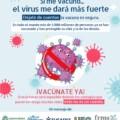 Si me vacuno… ¿el virus me dará más fuerte?