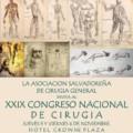 XXIX CONGRESO NACIONAL DE CIRUGIA