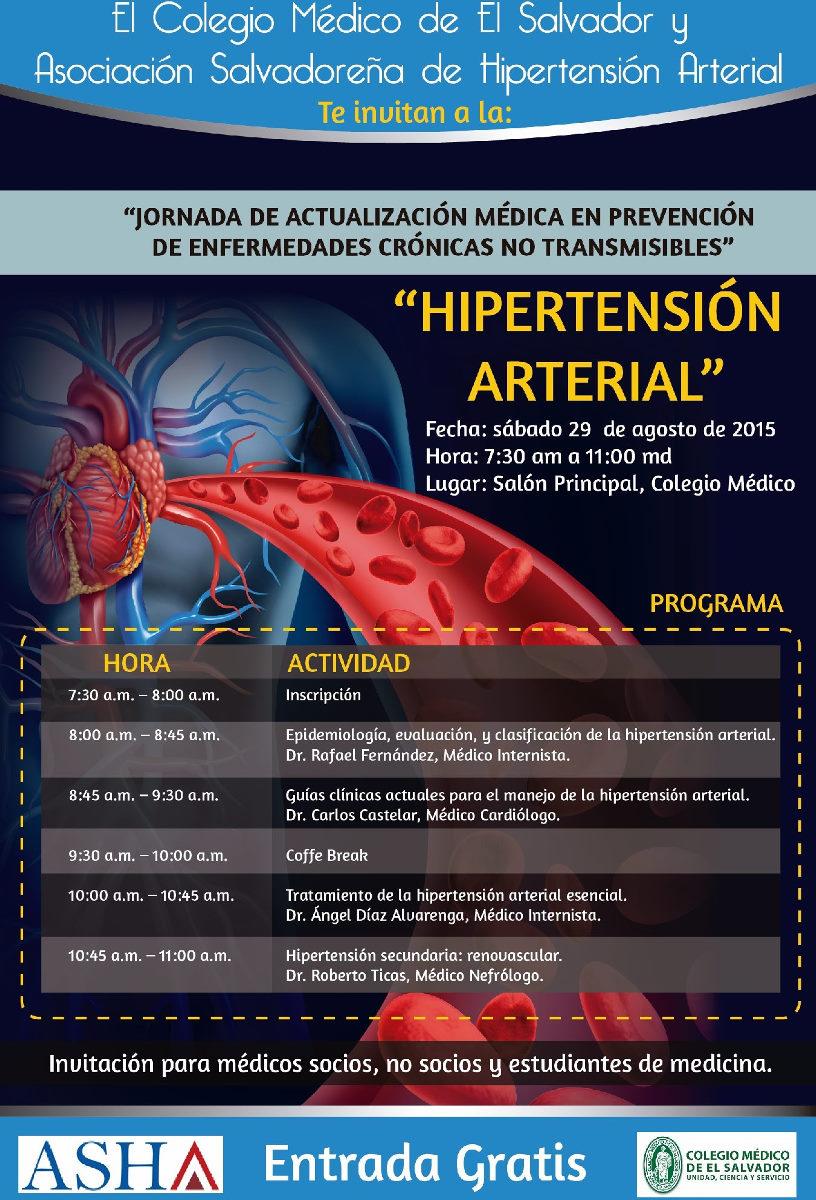 2015-08-29 – Jornada de Hipertensión Arterial