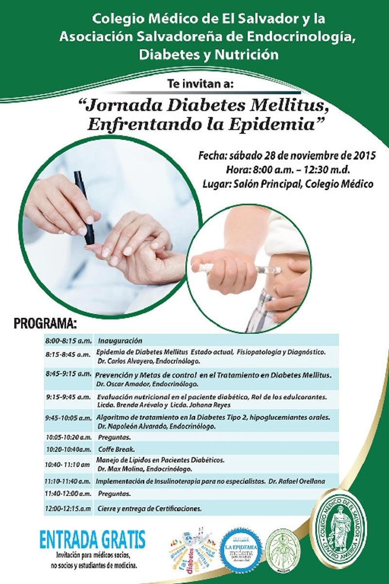 2015-11-28 – Jornada de Actualización Diabetes Mellitus