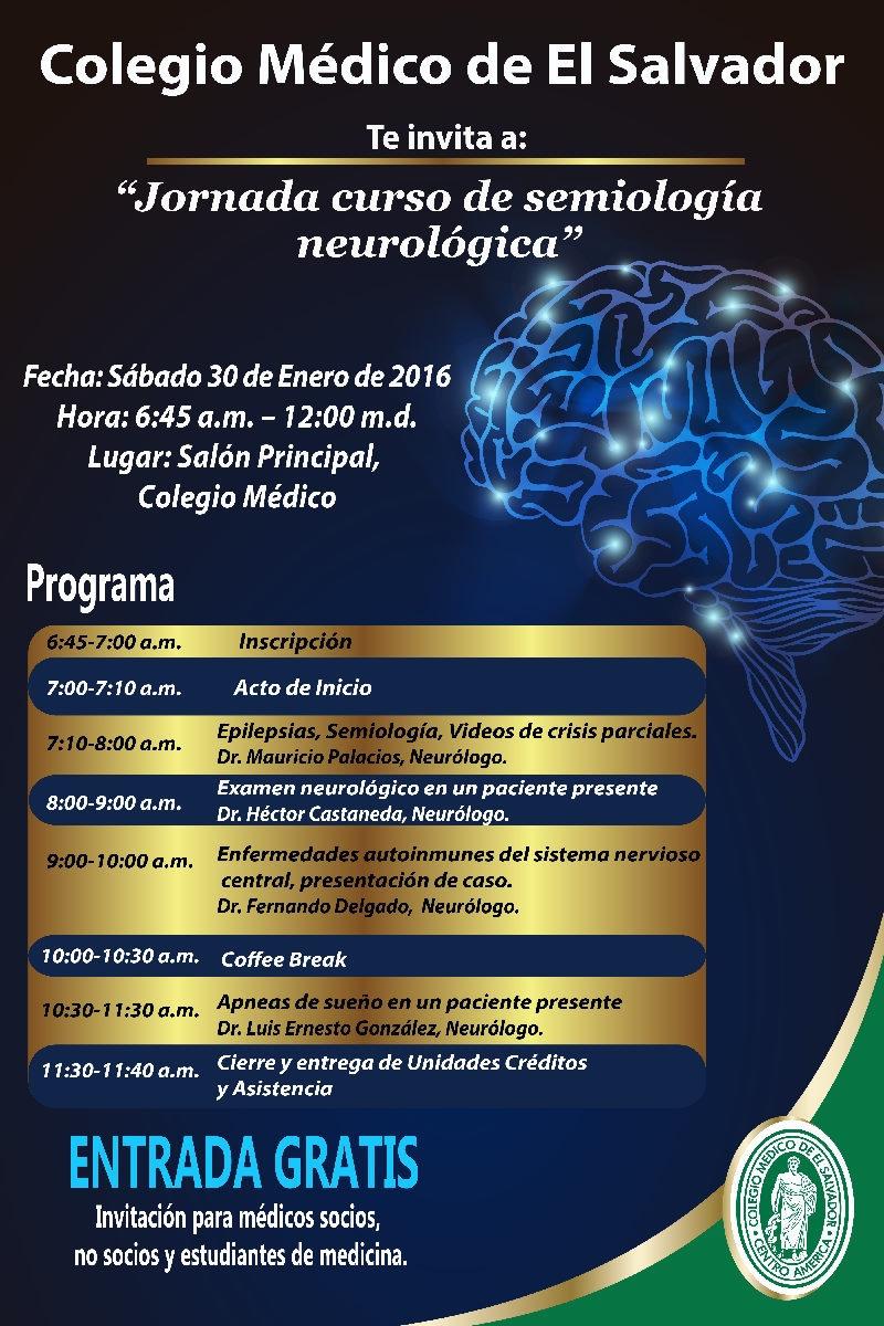 2016-01-30 – Jornada curso de semiología neurológica