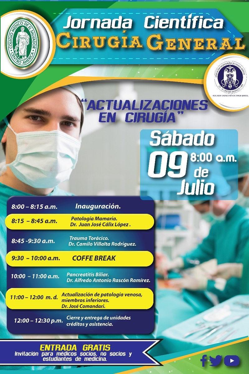 2016-05-28 – Actualizaciones en Cirugía