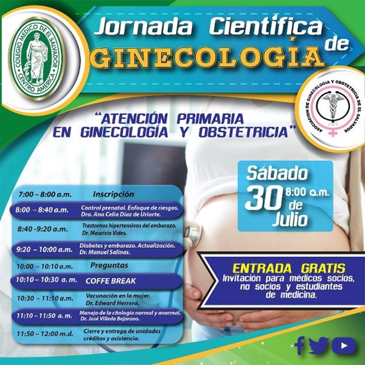 2016-07-30 – Jornada de Ginecología