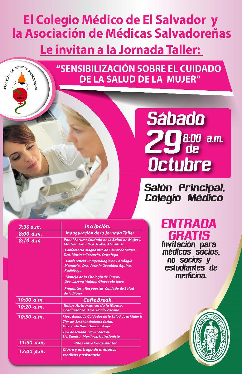 2016-10-29 – Jornada Sensibilización sobre el Cuidado de la Salud de la Mujer