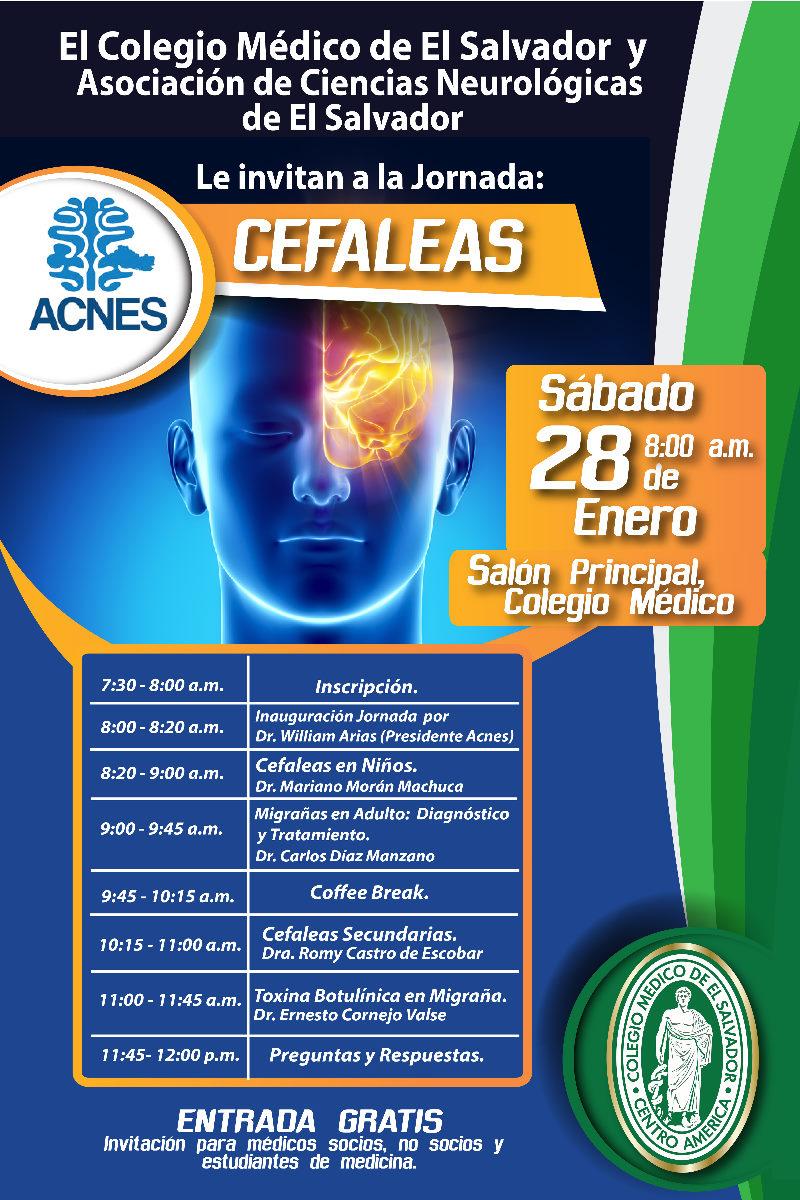 2017-01-28 – Jornada Neurologica: Cefaleas