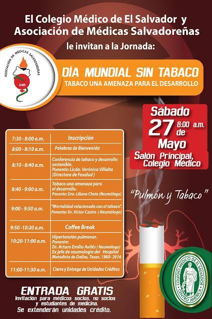 2017-05-27 – Jornada día mundial del tabaco