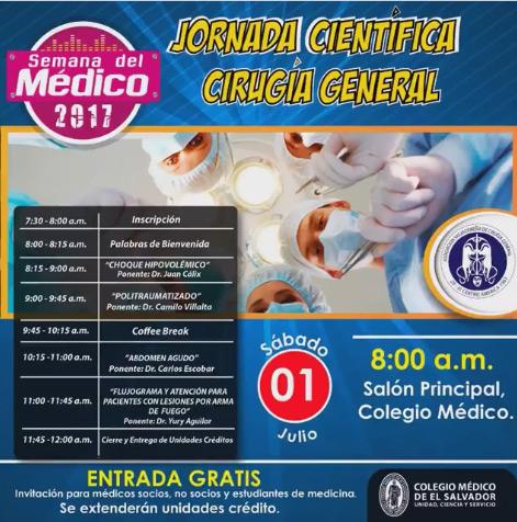 2017-07-01 –  Jornada Cirugía General