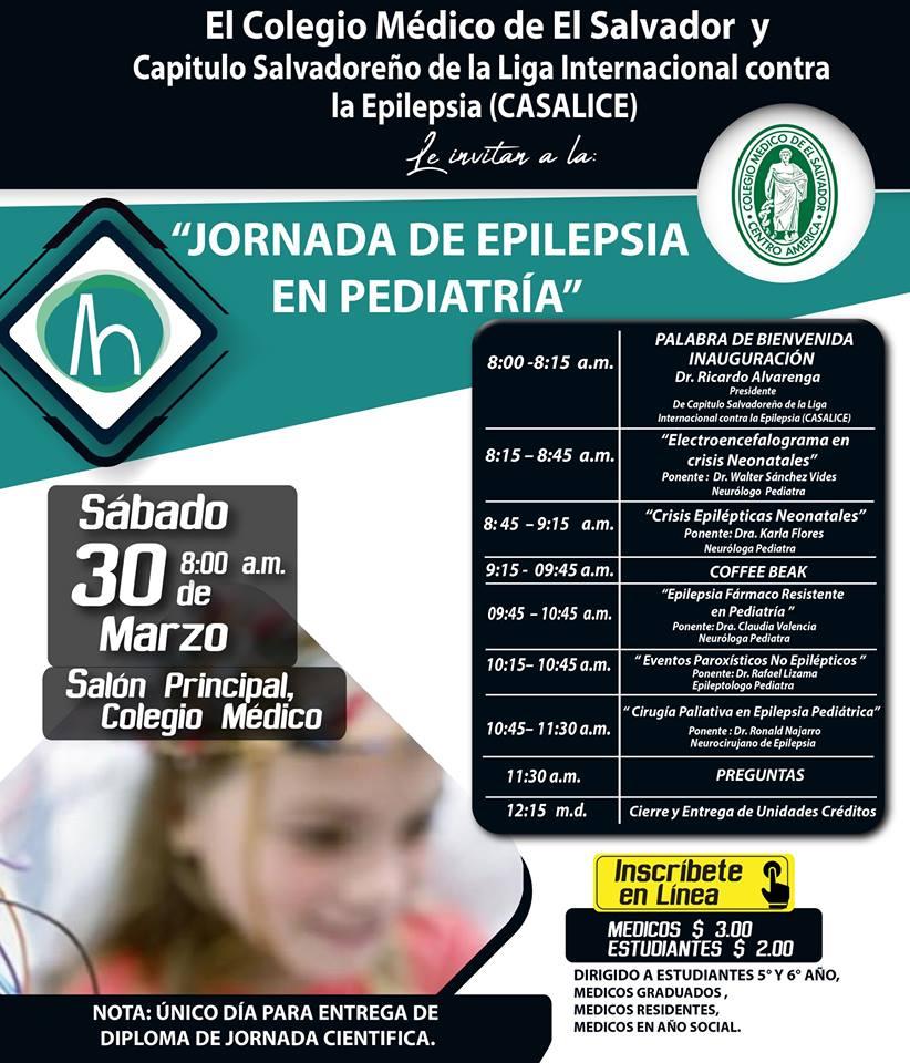 2019-03-30– Jornada de Epilepsia en Pediatría