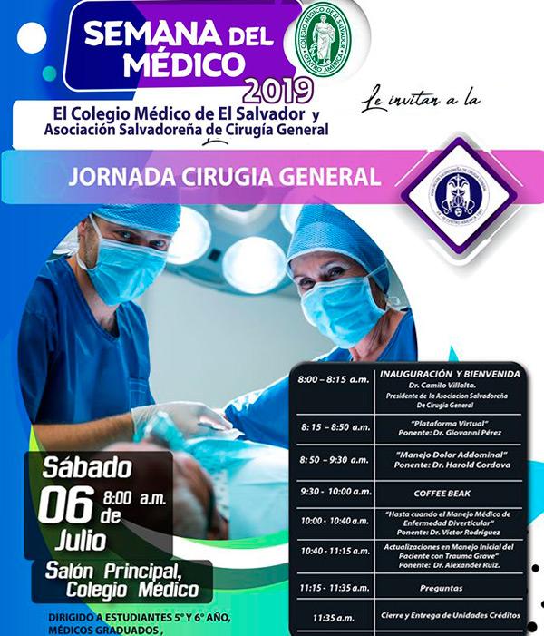 2019-07-06– Jornada de Cirugía General