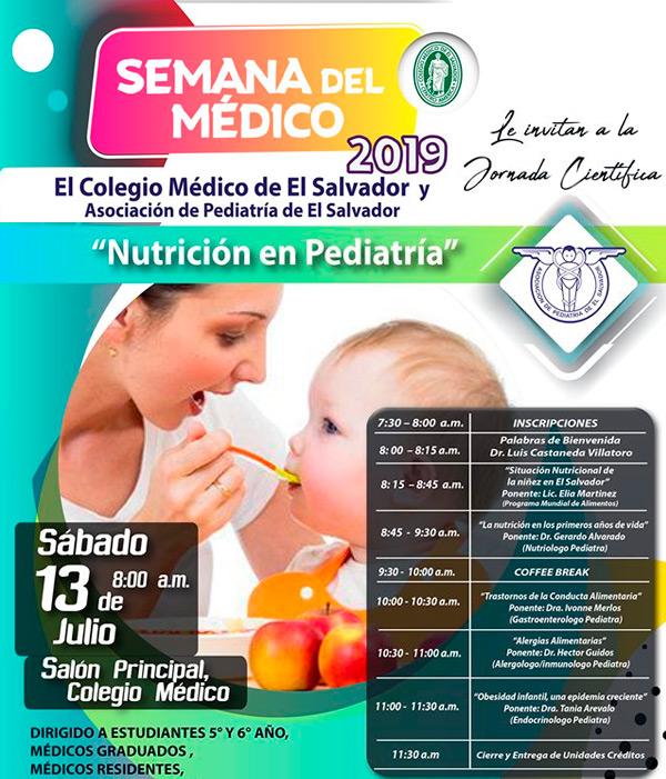 2019-07-13– Jornada de Nutrición de Pediatría