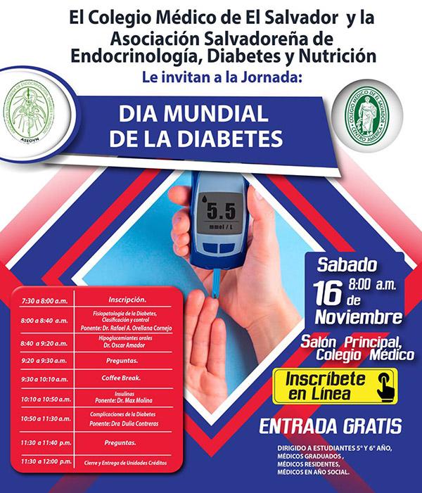 2019-11-16– Jornada de Endocrinología, Diabetes y Nutrición