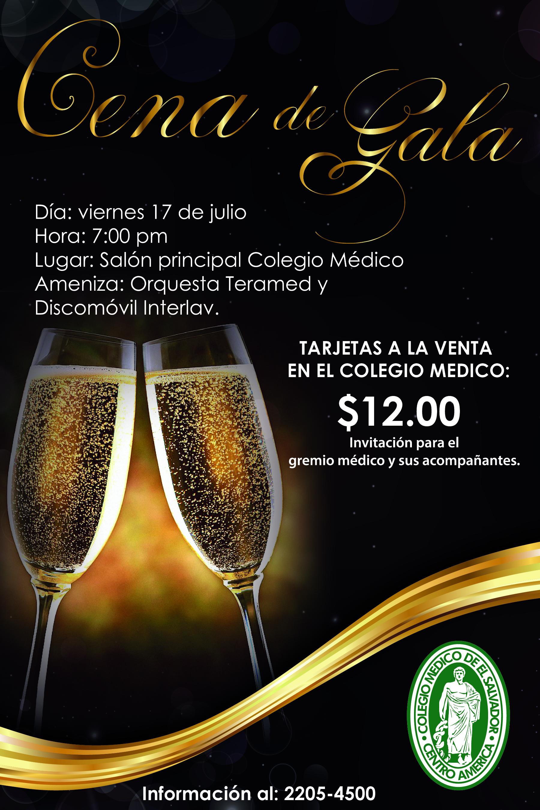 Cena De Gala 01 Colegio Médico De El Salvador